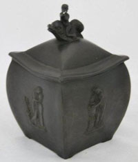 Black Basalt Sugar Box