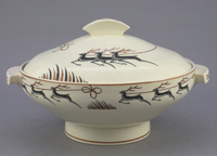 An earthenware Tureen and Cover made from Royal Jasmine body